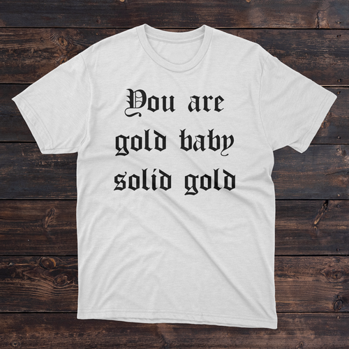 Daydream Tees Solid Gold