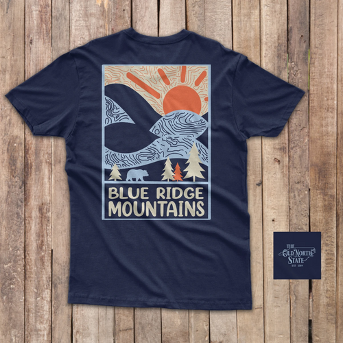 The Old North State - Blue Ridge Mountains