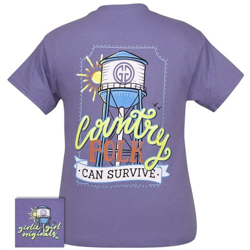 Girlie Girl Originals Country Folk Violet