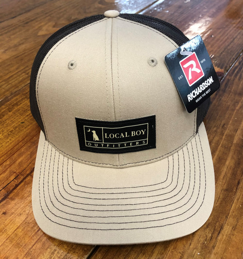 Local Boy Outfitters Woven Label Khaki/Coffee Hat