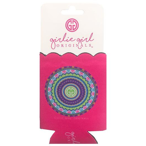 Girlie Girl Originals Mandala Pink Koozie