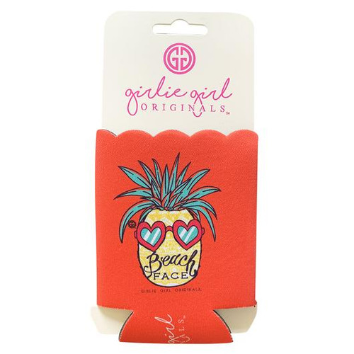 Girlie Girl Originals Beach Face Koozie