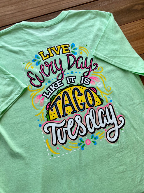 Girlie Girl Originals Taco Tuesday Mint Green