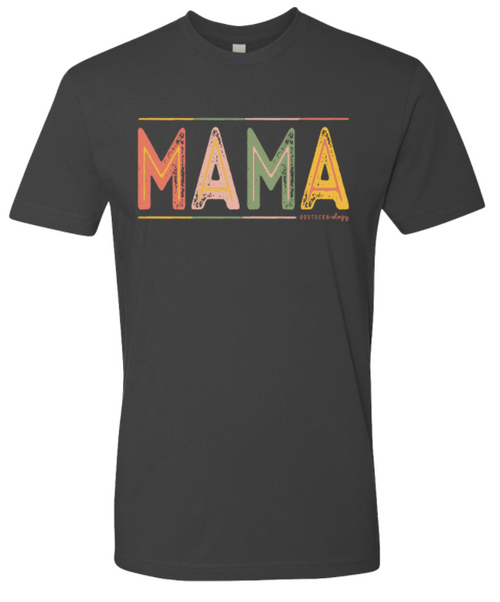 Southernology Mama Color Block Heavy Metal
