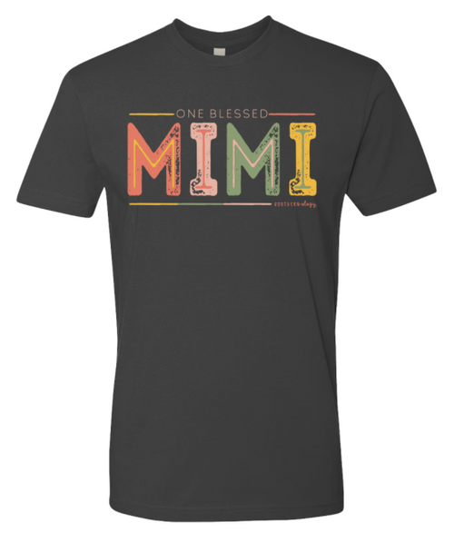 Southernology Mimi Color Block Heavy Metal