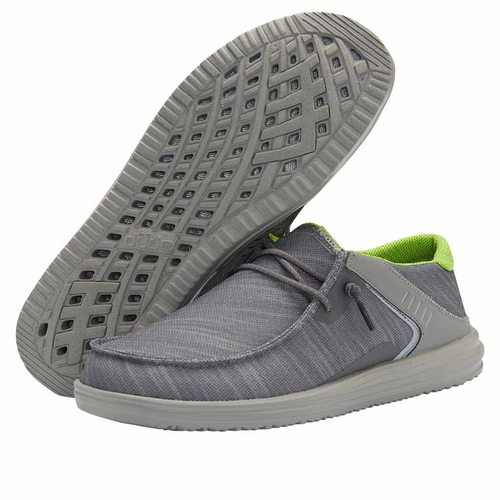 Hey Dude Wally Frontier Reef Grey