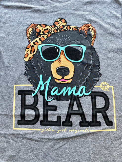 Girlie Girl Originals Mama Bear Bandana Graphite Heather