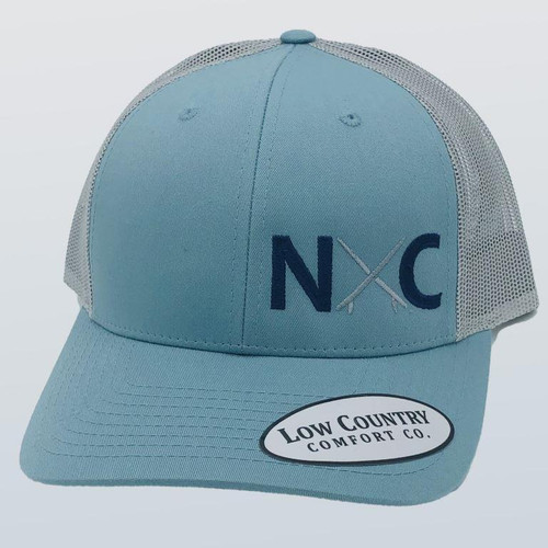 Low Country NC Surfboard Smoke Blue/Aluminum Hat