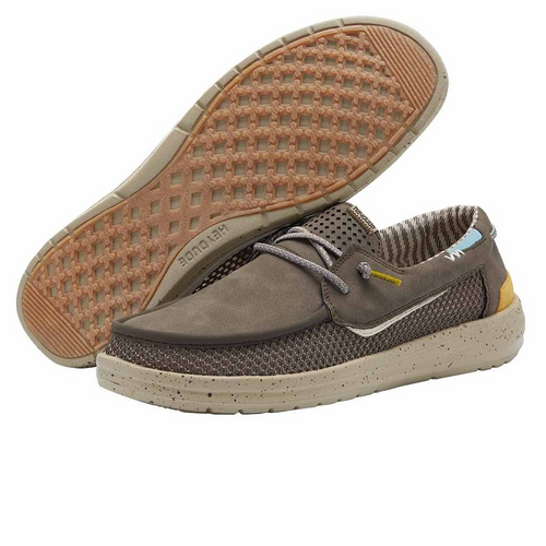 Hey Dude Men's Welsh Grip Choco