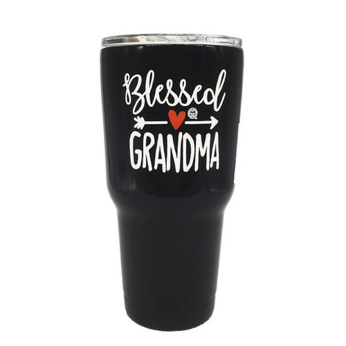 Girlie Girl Originals Blessed Grandma Stainless Steel Tumbler