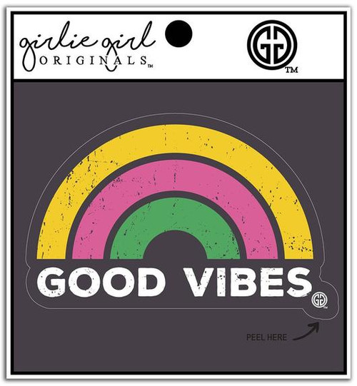 Girlie Girl Originals Good Vibes Decal/Sticker