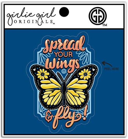 Girlie Girl Originals Spread Your Wings Decal/Sticker