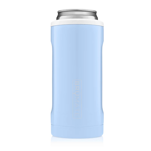 Brumate Hopsulator Slim Baby Blue & White
