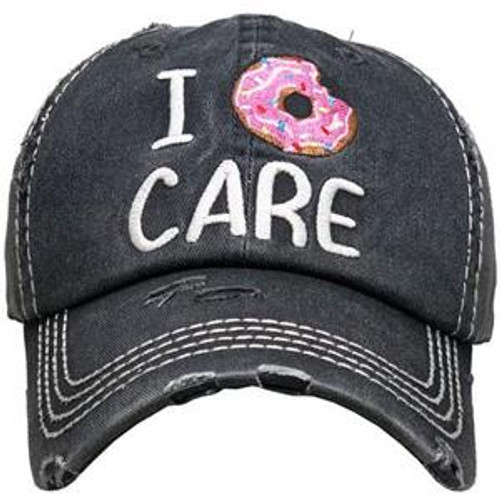 Girlie Girl Originals Donut Care Black Hat