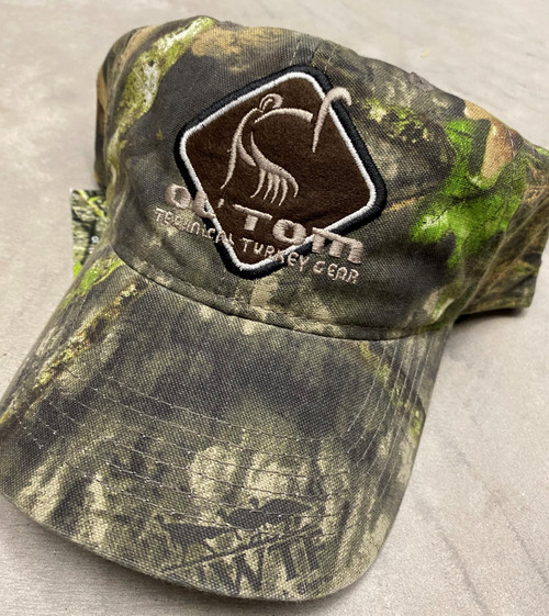 Drake Ol' Tom Cotton Camo Cap Mossy Oak Obsession OSFM