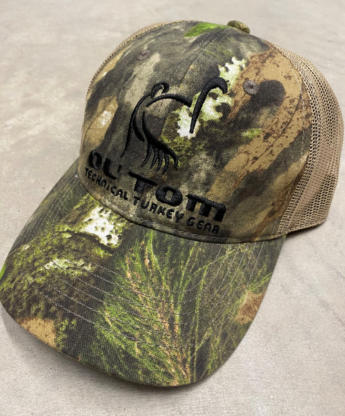 Drake Ol' Tom Camo Mesh Back Cap Mossy Oak Obsession OSFM