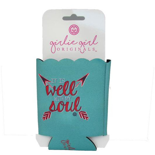 Girlie Girl Originals It is Well Koozie