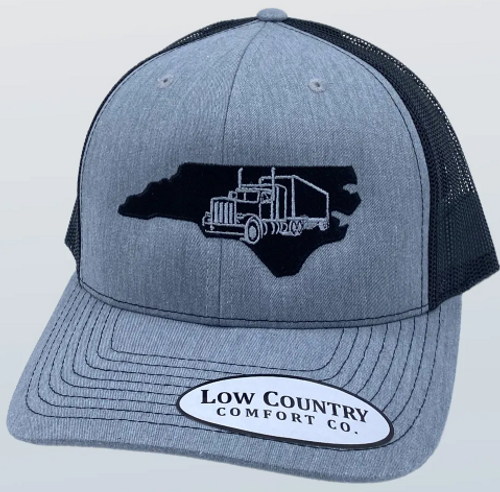 Low Country NC Semi Truck Heather/Black Hat