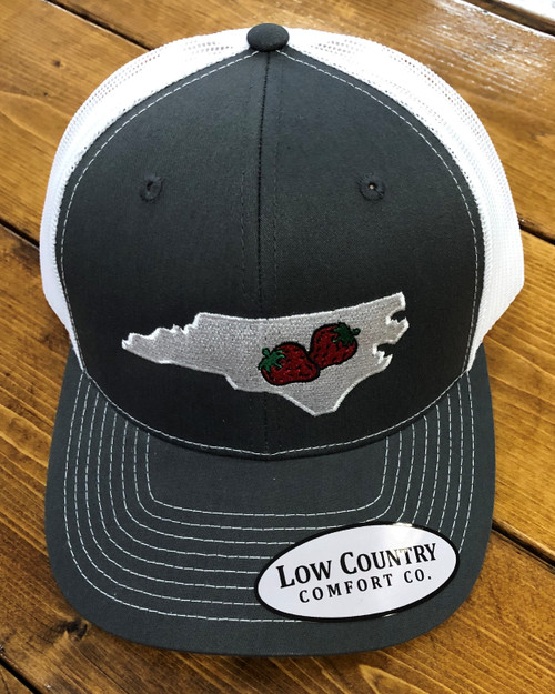 Low Country NC Strawberry Charcoal/White Hat