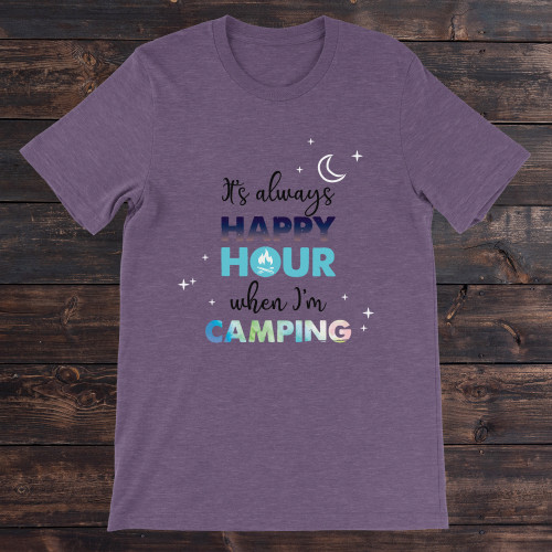 Daydream Tees Happy Hour Camping