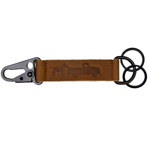 Simply Southern Guys Key Clip Truck