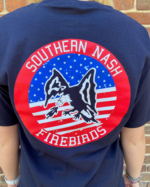 Round Here Clothing American Firebirds Navy