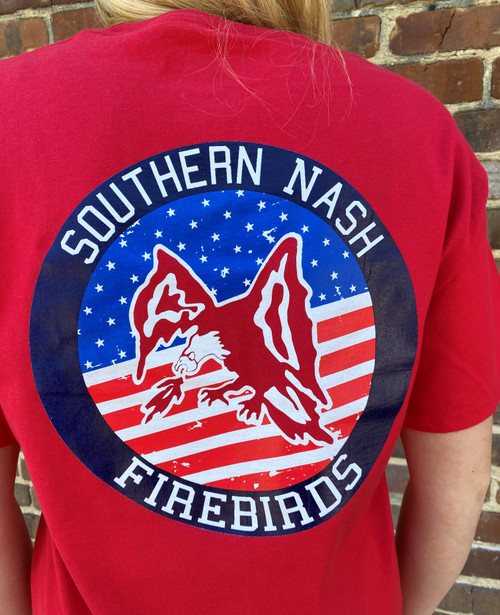 Round Here Clothing American Firebirds Red