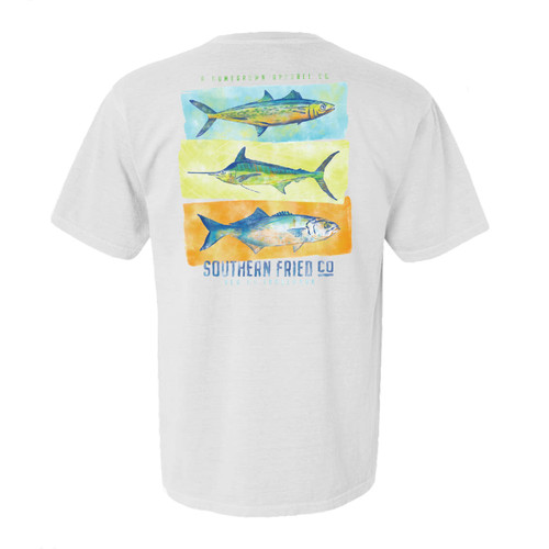 Southern Fried Cotton Saltwater Trio