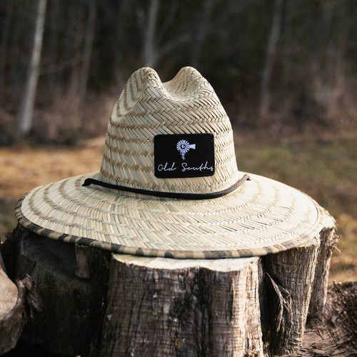 Old South Apparel Old School Camo Straw Hat