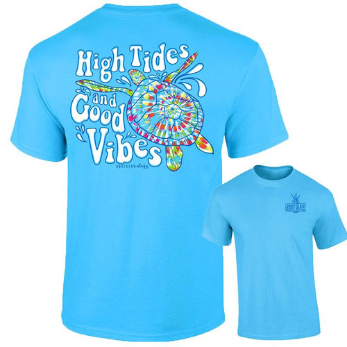 Southernology High Tides Turtle Tee