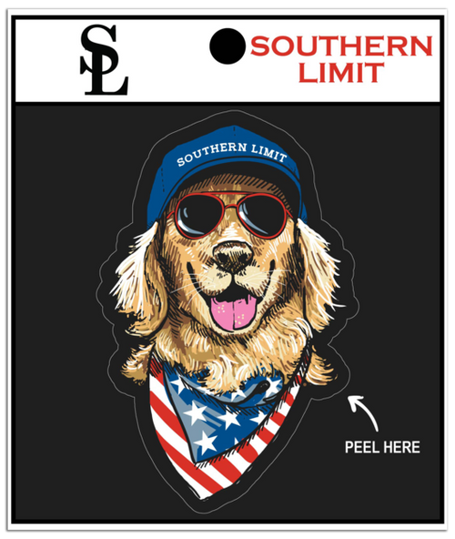 Southern Limit American Dog Decal