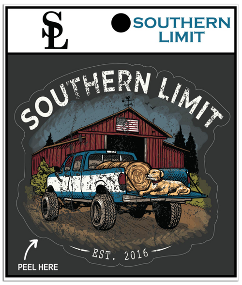 Southern Limit Truck & Barn Decal