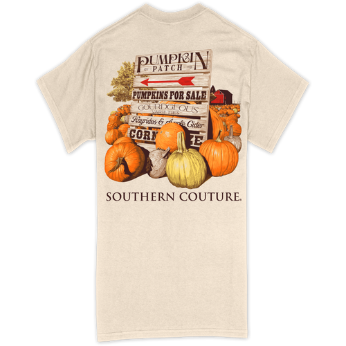 Southern Couture Pumpkin Patch Natural SS