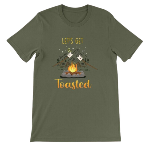 Daydream Tees Let's Get Toasted