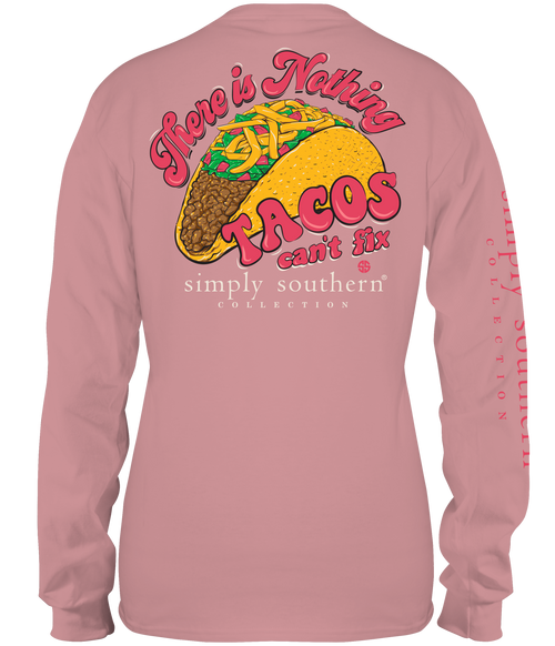 Simply Southern Taco Crepe LS