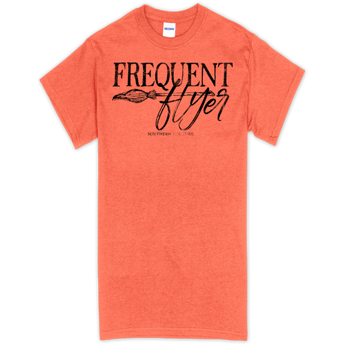 Southern Couture Frequent Flyer Heather Orange SS