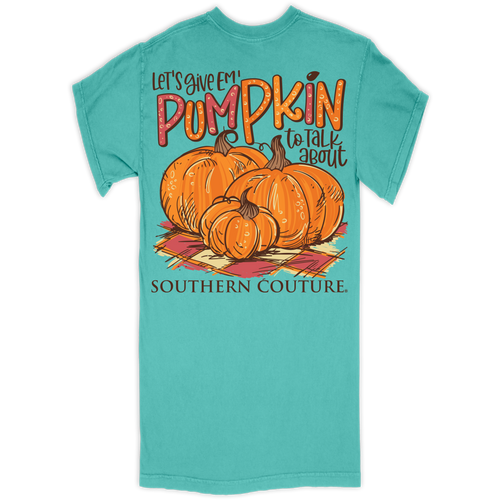 Southern Couture Pumpkin To Talk About Chalky Mint SS