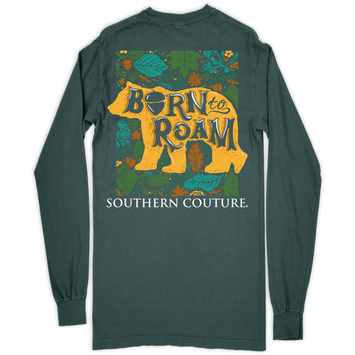 Southern Couture Born to Roam Bear Blue Spruce LS
