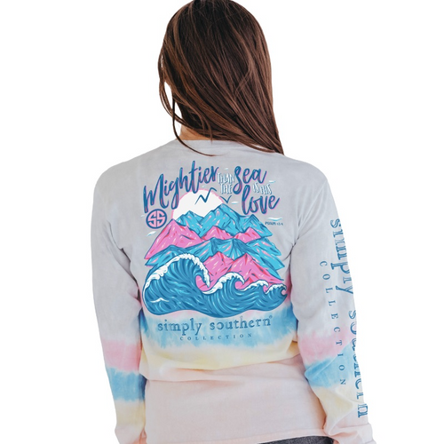 Simply Southern Mightier Confetti LS