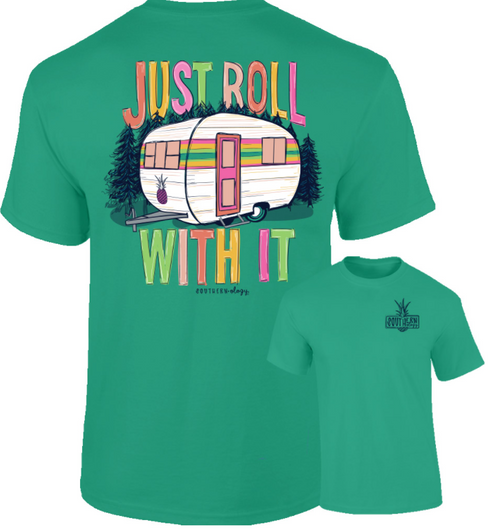 Southernology Just Roll With It Island Green