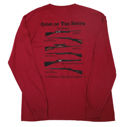 A Southern Lifestyle Co. - Guns of the South LS Tee Brick