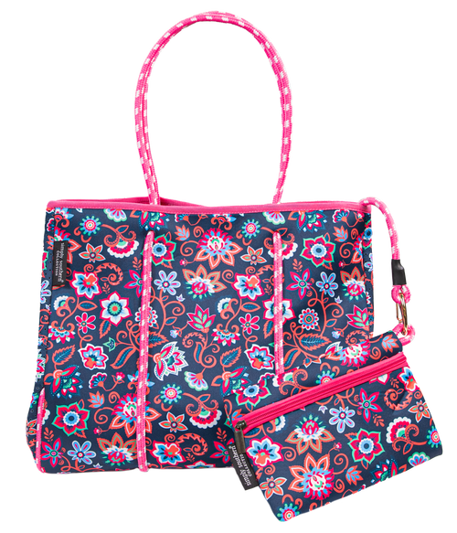 Simply Southern Neoprene Floral Bag