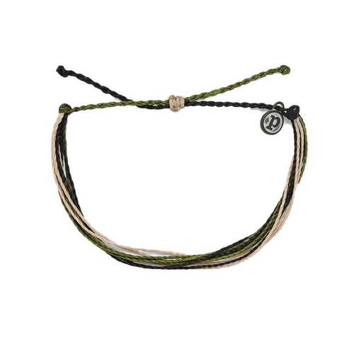 Pura Vida Homes For Our Troops Charity Bracelet (CAMO)