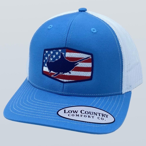 Low Country Comfort Co. Freedom Marlin Columbia/White Hat