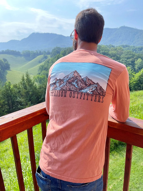 Harrison Outfitters Mountains LS Terracotta