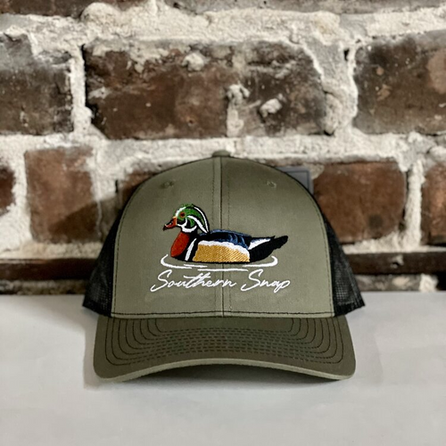 Southern Snap Swimming Duck Green/Black Hat