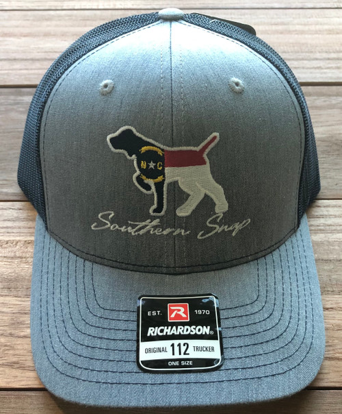 Southern Snap NC Embroid. Pointer Gray/Navy Hat