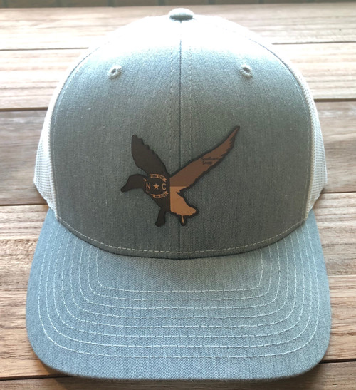 Southern Snap NC Leather Duck Heather/White Hat