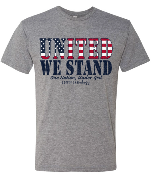 Southernology United We Stand Dark Heather