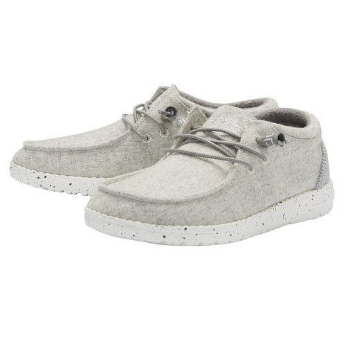 Hey Dude Cindy Light Grey Ankle Bootie